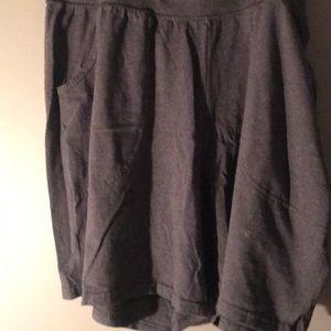 Comfy Hanes Gray Cotton Shorts
